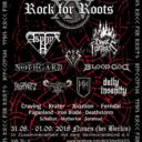 Rock For Roots XV Flyer